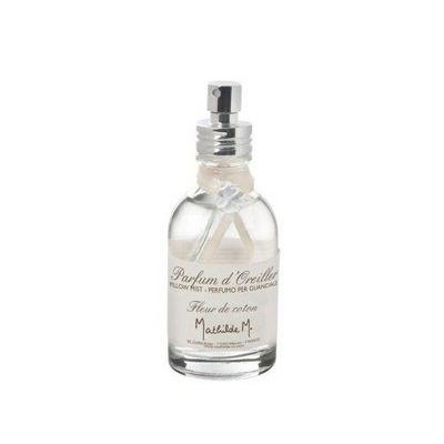 Mathilde M - Brume d'oreiller-Mathilde M-Parfum d'oreiller Fleur de coton - 50 ml - Mathil