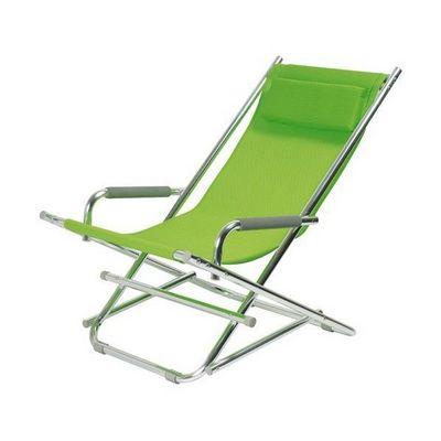 La Chaise Longue - Transat-La Chaise Longue-Chaise Longue Alu Vert
