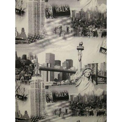 Le Quartier des Tissus - Tissu imprimé-Le Quartier des Tissus-Tissu Polycoton New York
