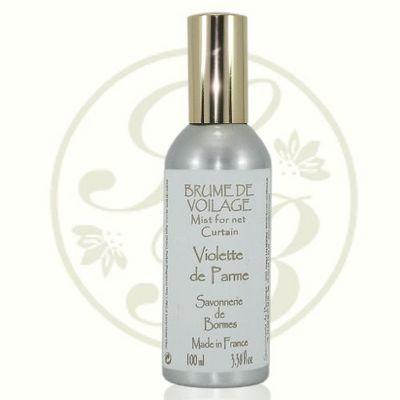 Savonnerie De Bormes - Parfum d'intérieur-Savonnerie De Bormes-Brume de voilage - Violette de Parme - 100 ml - Sa
