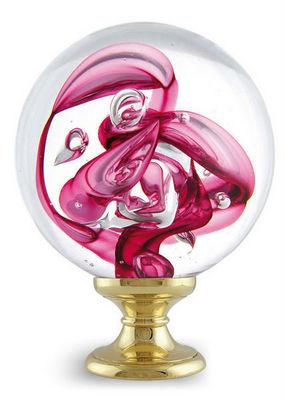 Les Verreries De Brehat - Boule d'escalier-Les Verreries De Brehat-Tubes de bulles