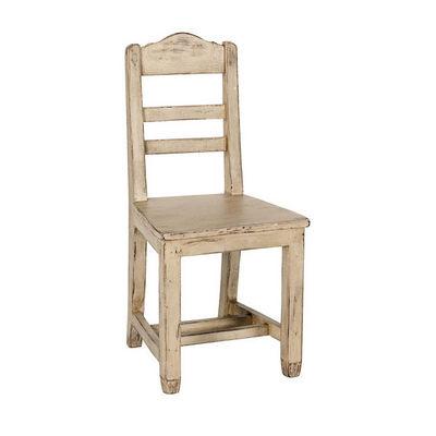 Interior's - Chaise-Interior's-Lot de 2 chaises assise bois