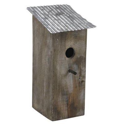 Aubry-Gaspard - Maison d'oiseau-Aubry-Gaspard-Nichoir oiseau Toit zinc