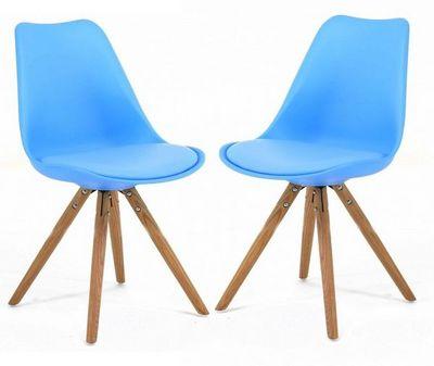 ID'CLIK - Chaise-ID'CLIK-Chaise design Cross (Lot de 2)
