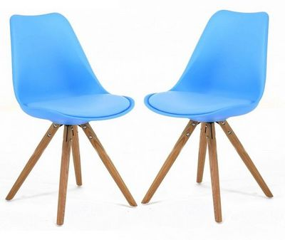 ID'CLIK - Chaise-ID'CLIK-Chaise design Cross (Lot de 2)