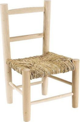 Aubry-Gaspard - Chaise enfant-Aubry-Gaspard-Petite chaise bois pour enfant