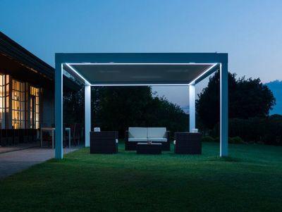 PRATIC - Abri de terrasse-PRATIC-avec LED