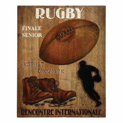 Interior's - Tableau d�coratif-Interior's-Enseigne Rugby