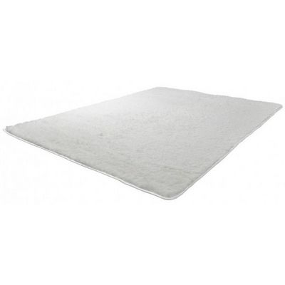 WHITE LABEL - Tapis contemporain-WHITE LABEL-Tapis salon crème poil long taille S