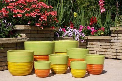 Les Poteries Clair de Terre - Bac � fleurs-Les Poteries Clair de Terre-S�quoia