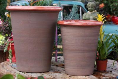 Les Poteries Clair de Terre - Bac à fleurs-Les Poteries Clair de Terre-Baobab
