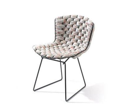 CLEMENT BRAZILLE - Chaise-CLEMENT BRAZILLE-Bertoia Chair revisité--