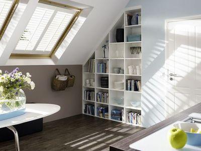 Jasno Shutters - Volet intérieur-Jasno Shutters-Shutters Persiennes mobiles en Fenêtre de toit