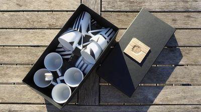 Tywacs Créations - Service à café-Tywacs Créations