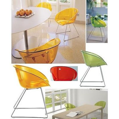 Mathi Design - Chaise-Mathi Design-Chaise Gliss Pedrali transparent