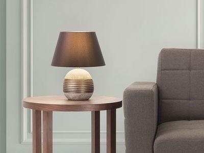 BELIANI - Lampe à poser-BELIANI-Sado
