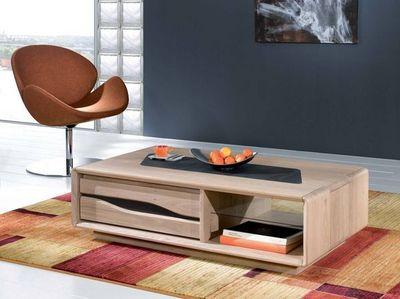 Ateliers De Langres - Table basse rectangulaire-Ateliers De Langres-CERAM - table basse rectangulaire