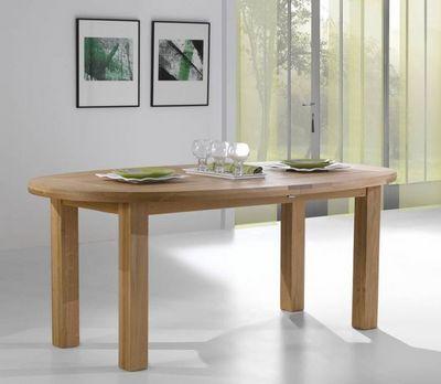 Ateliers De Langres - Table de repas ovale-Ateliers De Langres-WHITNEY
