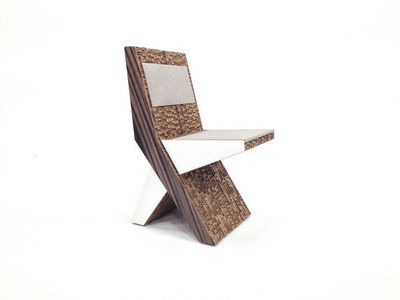 Corvasce Design - Chaise-Corvasce Design-Moku Sedia in Cartone