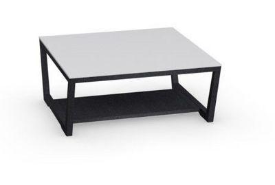 Calligaris - Table basse rectangulaire-Calligaris-Table basse ELEMENT de CALLIGARIS graphite avec pl