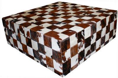 Tergus - Table d'appoint-Tergus-Table peau de vache naturelle normande
