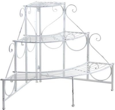 Aubry-Gaspard - Porte-plantes-Aubry-Gaspard-Etagère d'angle porte-pots