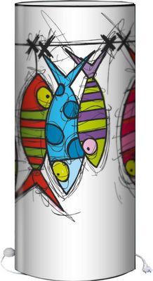 Plage Des Demoiselles - Lampadaire-Plage Des Demoiselles-Lampadaire Marine B Poisson corde � linge 118cm