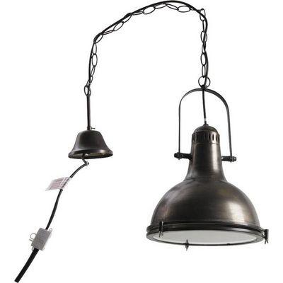 Aubry-Gaspard - Lampe à poser-Aubry-Gaspard-Lampe suspension metal Diamètre 33cm