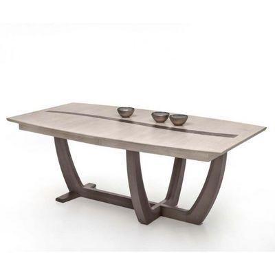 Ateliers De Langres - Table de repas rectangulaire-Ateliers De Langres-Table tonneau OCEANE