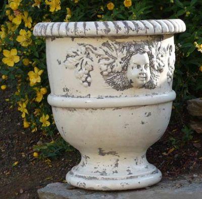 TERRES D'ALBINE - Pot de fleur-TERRES D'ALBINE-Vase Languedocien