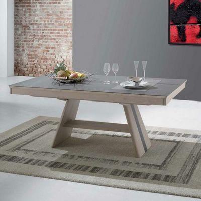 Ateliers De Langres - Table de repas rectangulaire-Ateliers De Langres-Table DEAUVIL
