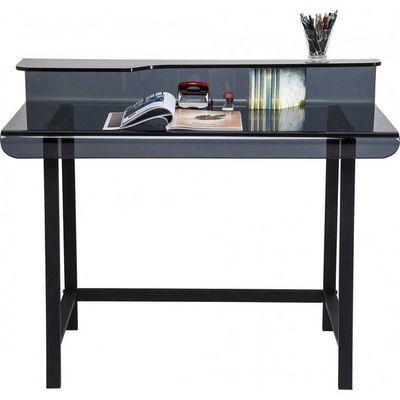 Kare Design - Bureau-Kare Design-Bureau en verre Visible gris 110x65 cm