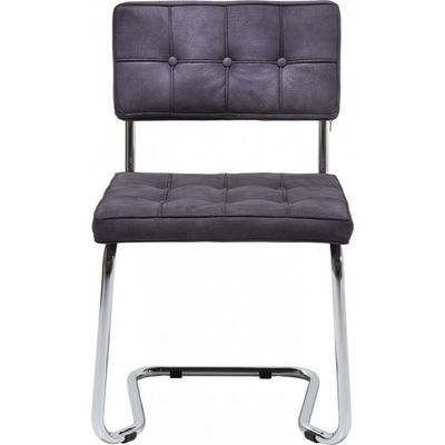Kare Design - Chaise-Kare Design-Chaise Swinger Expo Square gris foncé