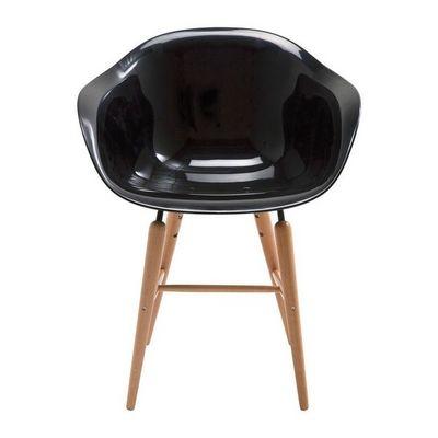 Kare Design - Chaise-Kare Design-Chaise avec accoudoirs Forum noir