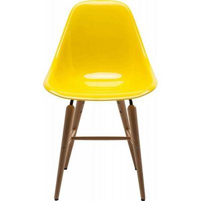 Kare Design - Chaise-Kare Design-Chaise Forum jaune