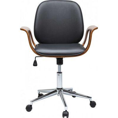 Kare Design - Chaise de bureau-Kare Design-Chaise de bureau Patron noyer