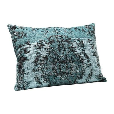 Kare Design - Coussin rectangulaire-Kare Design-Coussin Kelim Pop turquoise 60x40