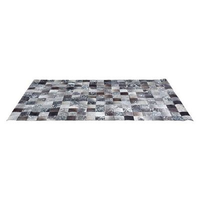 Kare Design - Tapis contemporain-Kare Design-Tapis Patchwork Cosmo Grey Fur 200x300cm