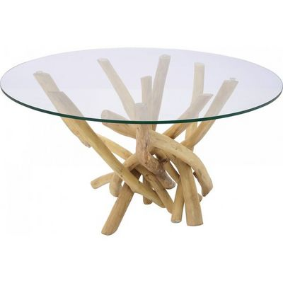 Kare Design - Table basse ronde-Kare Design-Table Basse Ronde Flint Stone