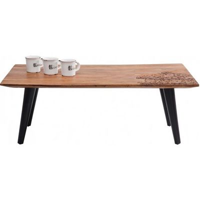 Kare Design - Table basse rectangulaire-Kare Design-Table Basse en bois Rodeo 110x60 cm