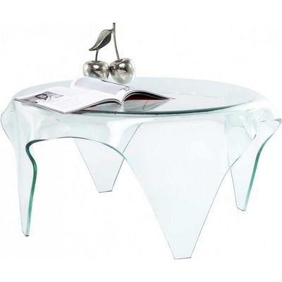 Kare Design - Table basse ronde-Kare Design-Table Basse Transparente Visible Clear