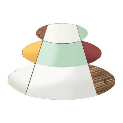 Kare Design - Miroir-Kare Design-Miroir Metamorphosis Circles 107x150cm