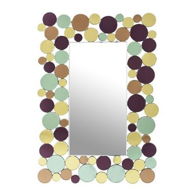 Kare Design - Miroir-Kare Design-Miroir Circle Crest 120x80cm