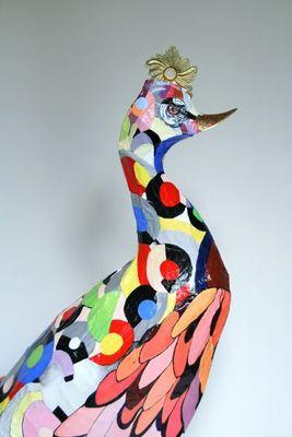 ARTBOULIET - Sculpture animalière-ARTBOULIET-Coq Art