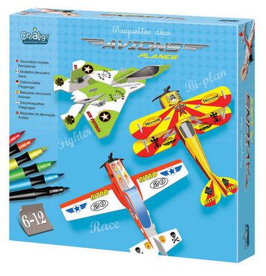 Crea Lign' - Divers jeux jouets-Crea Lign'-Maquette déco Avions