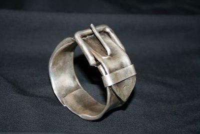 SZENDY GRINHILDA - Bracelet-SZENDY GRINHILDA-Boucle ceinture