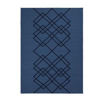 LOUISE ROE COPENHAGEN - Tapis contemporain-LOUISE ROE COPENHAGEN-BORG #04 ROYAL BLUE