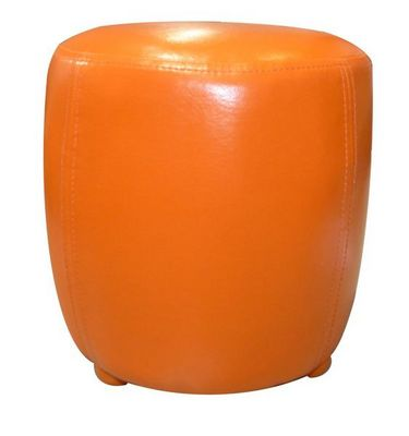 Cotton Wood - Pouf-Cotton Wood-Pouf Tonneau Orange