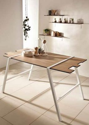Polyrey - Table de repas rectangulaire-Polyrey