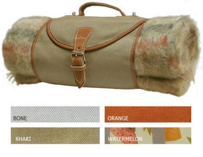 Hidden Cabin - Couverture pique-nique-Hidden Cabin-Blanket Carrier - Canvas